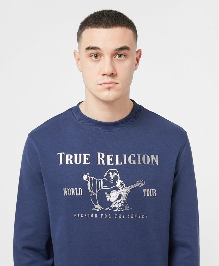 True Religion Rubber Front Buddha Sweatshirt