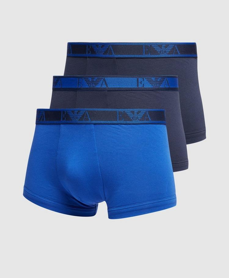 Emporio Armani Loungewear 3 Pack Logo Boxers