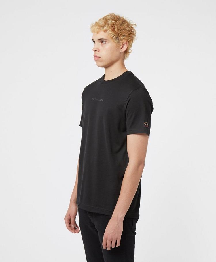 Paul and Shark Central Text Short Sleeve T-Shirt