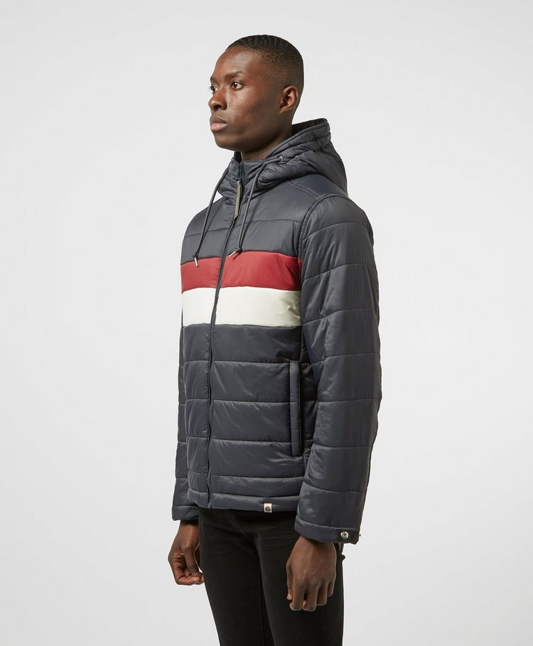 Pretty Green Quilted Hooded Jacket