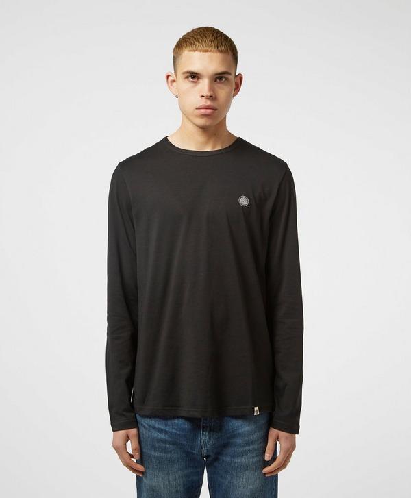 Pretty Green Cotton Long Sleeve T-Shirt