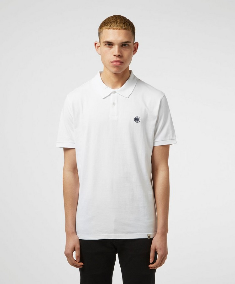 Pretty Green Jersey Short Sleeve Polo Shirt