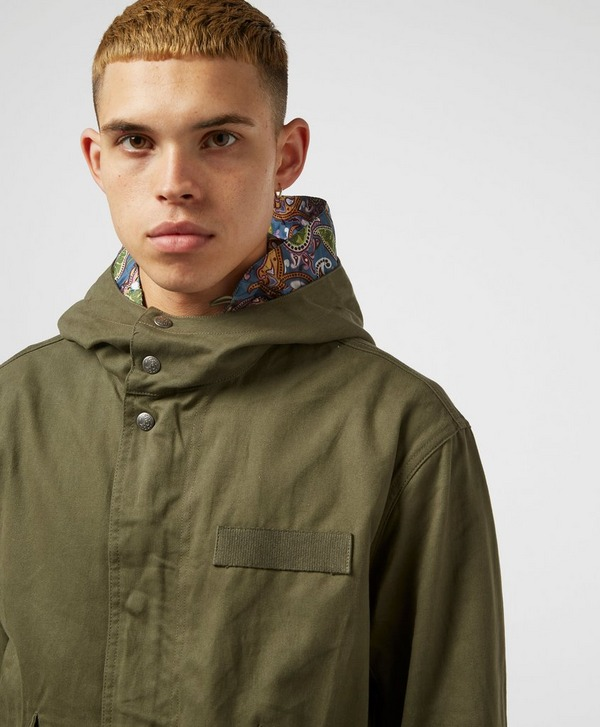 Pretty Green Hooded Parka Jacket