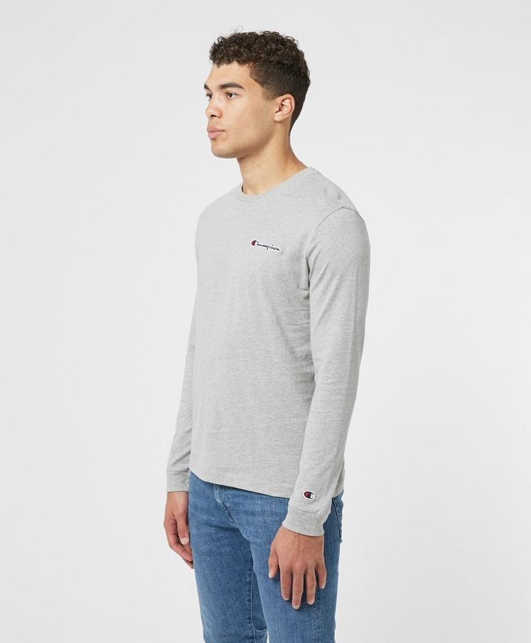 Champion Small Logo Long Sleeve T-Shirt