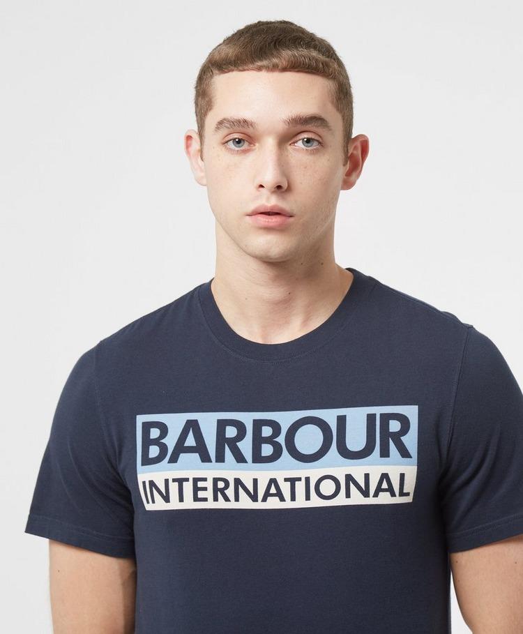 Barbour International Cap Logo T-Shirt