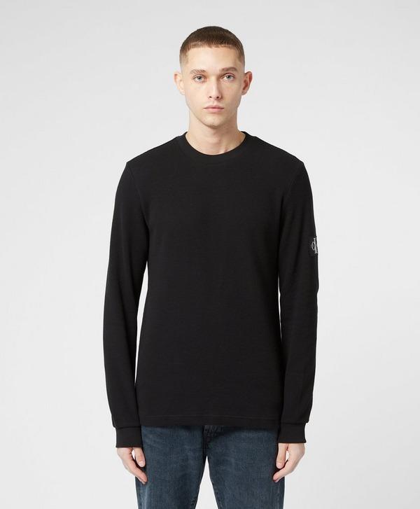 Calvin Klein Jeans Waffle Long Sleeve T-Shirt