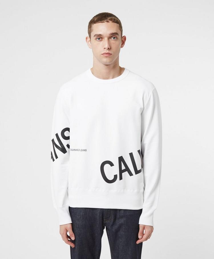 Calvin Klein Jeans Stretch Logo Crew Sweatshirt