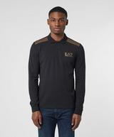 Emporio Armani EA7 7 Lines Pique Long Sleeve Polo Shirt - Exclusive