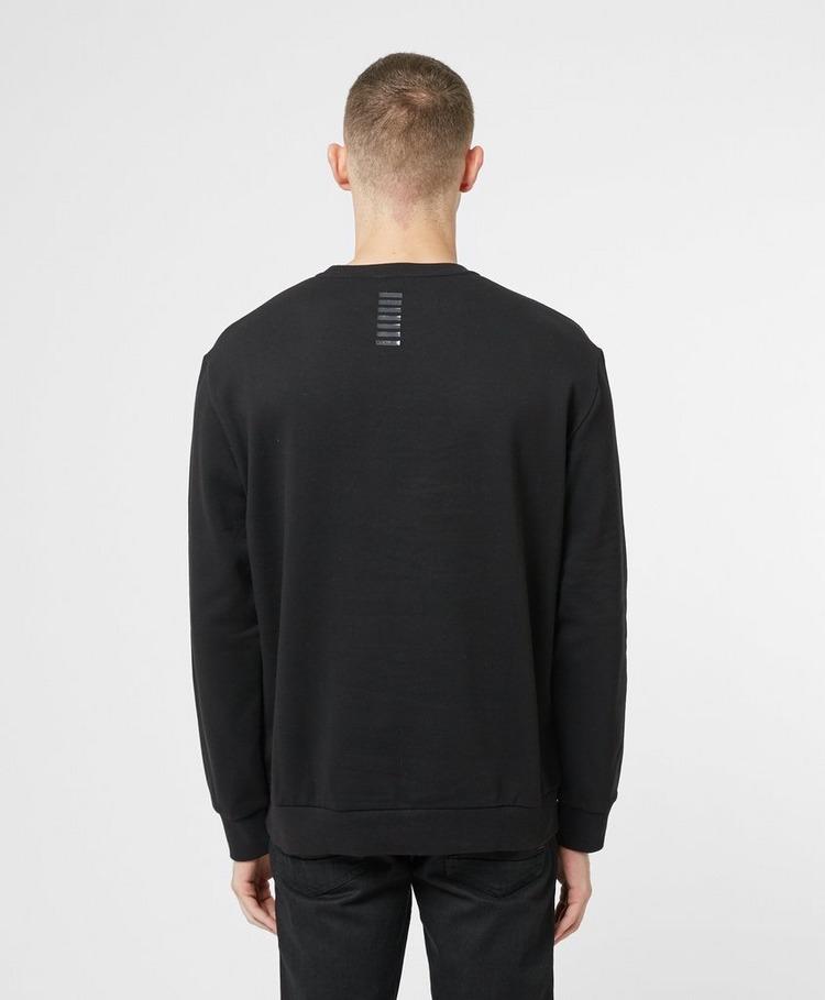 Emporio Armani EA7 Rubber Logo Fleece Sweatshirt