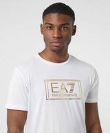 Emporio Armani EA7 Gold Label Logo Short Sleeve T-Shirt