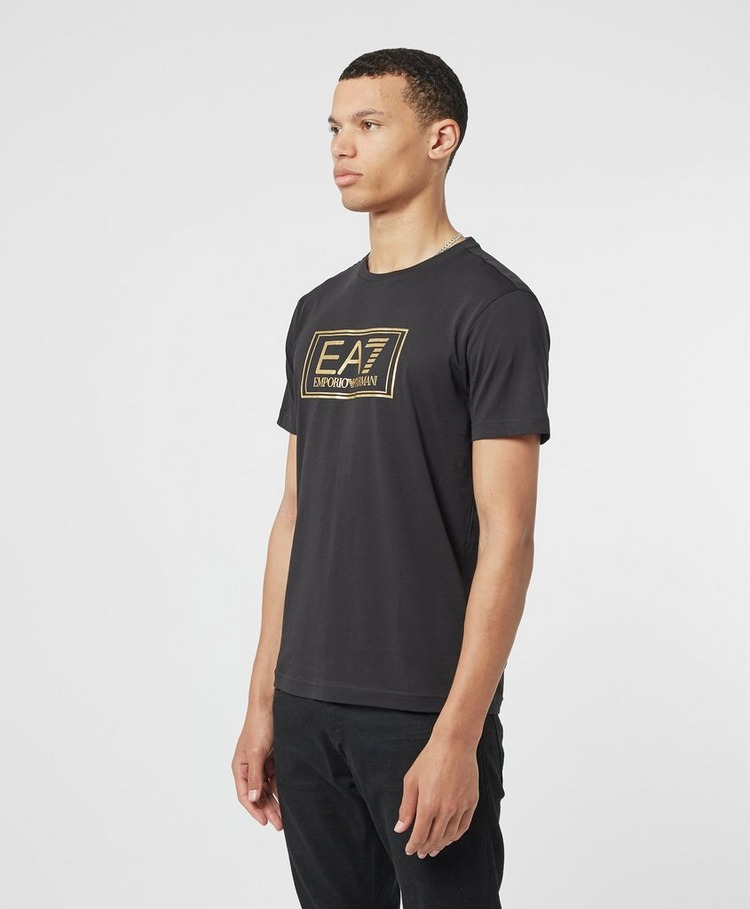 Emporio Armani EA7 Gold Label Logo Short Sleeve T-Shirt