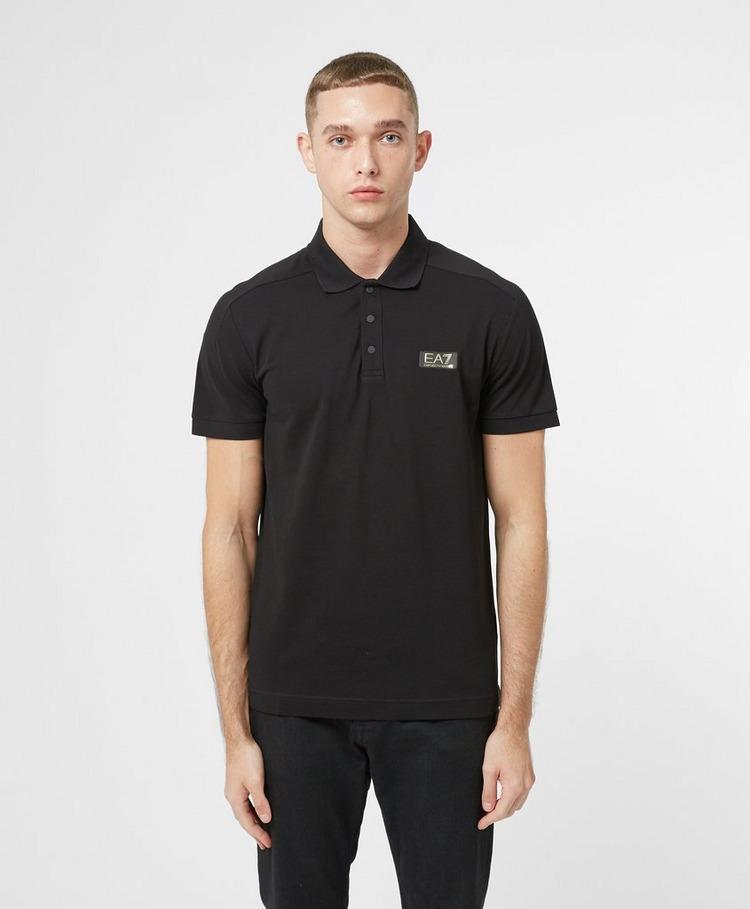 Emporio Armani EA7 Gold Label Short Sleeve Polo Shirt