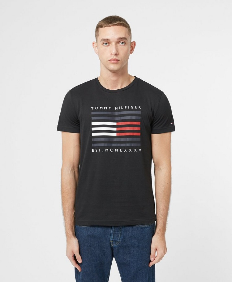 Tommy Hilfiger Corporate Flag Lines Short Sleeve T-Shirt
