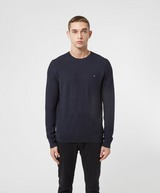 Tommy Hilfiger Honeycomb Knitted Sweatshirt