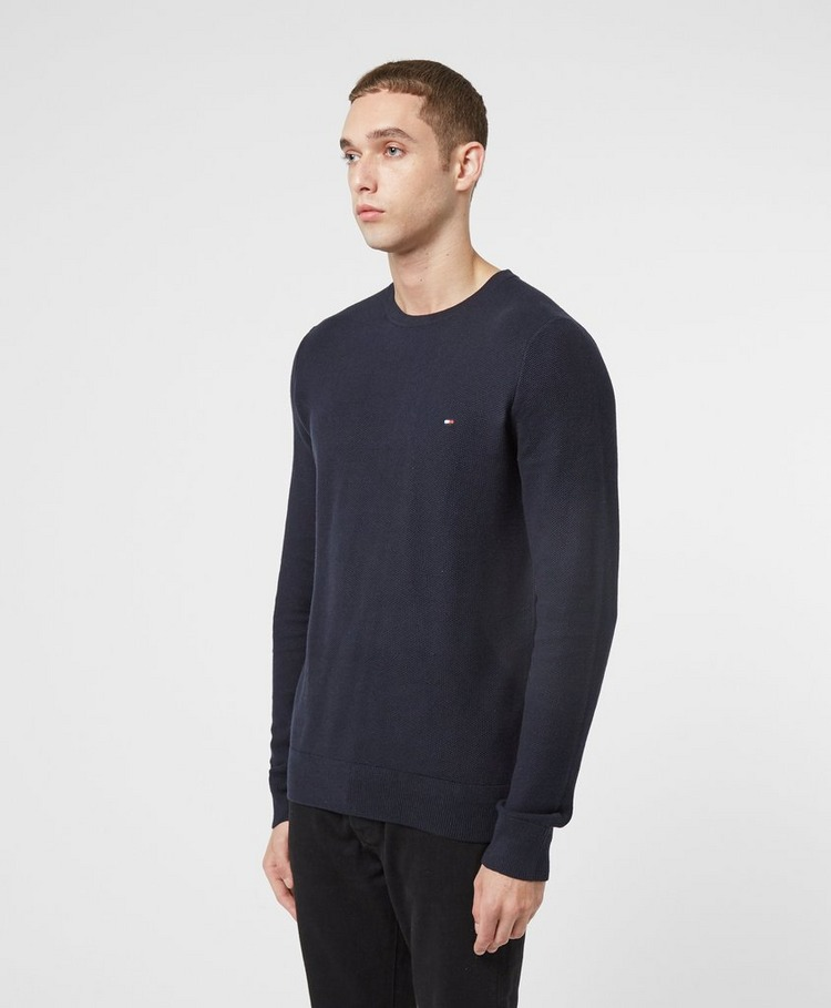 Tommy Hilfiger Honeycomb Knitted Sweatshirt