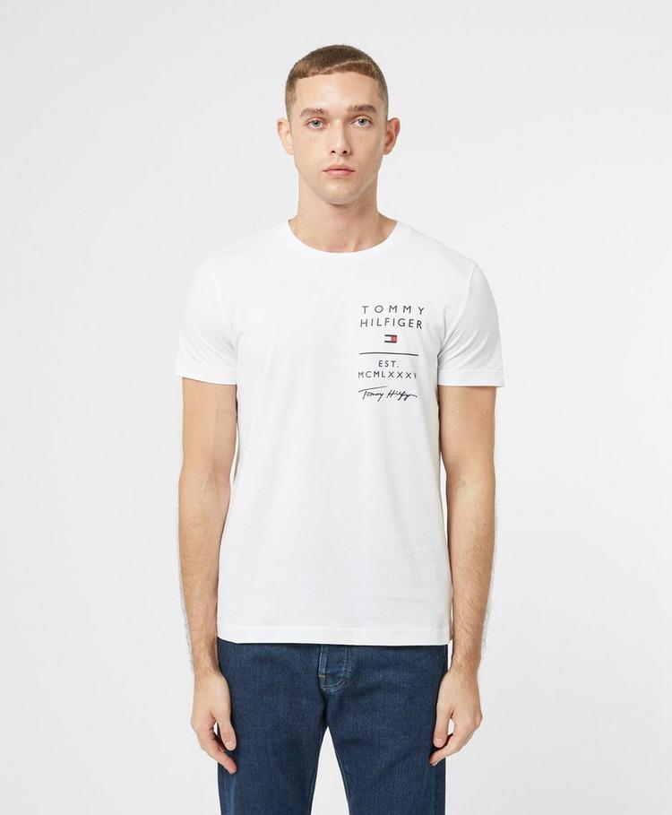 Tommy Hilfiger Logo List Short Sleeve T-Shirt
