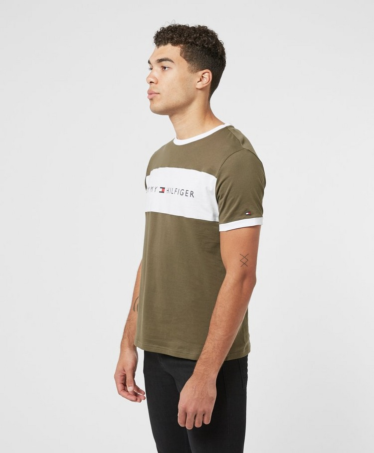Tommy Hilfiger Block Logo Short Sleeve T-Shirt