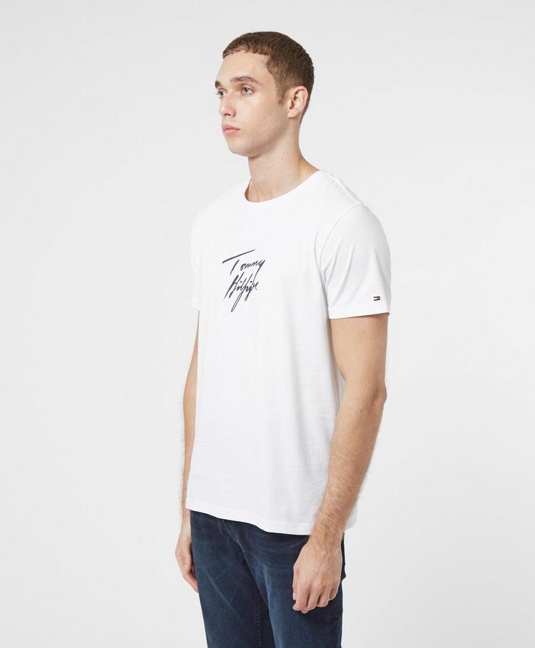 Tommy Hilfiger Script Logo Short Sleeve T-Shirt