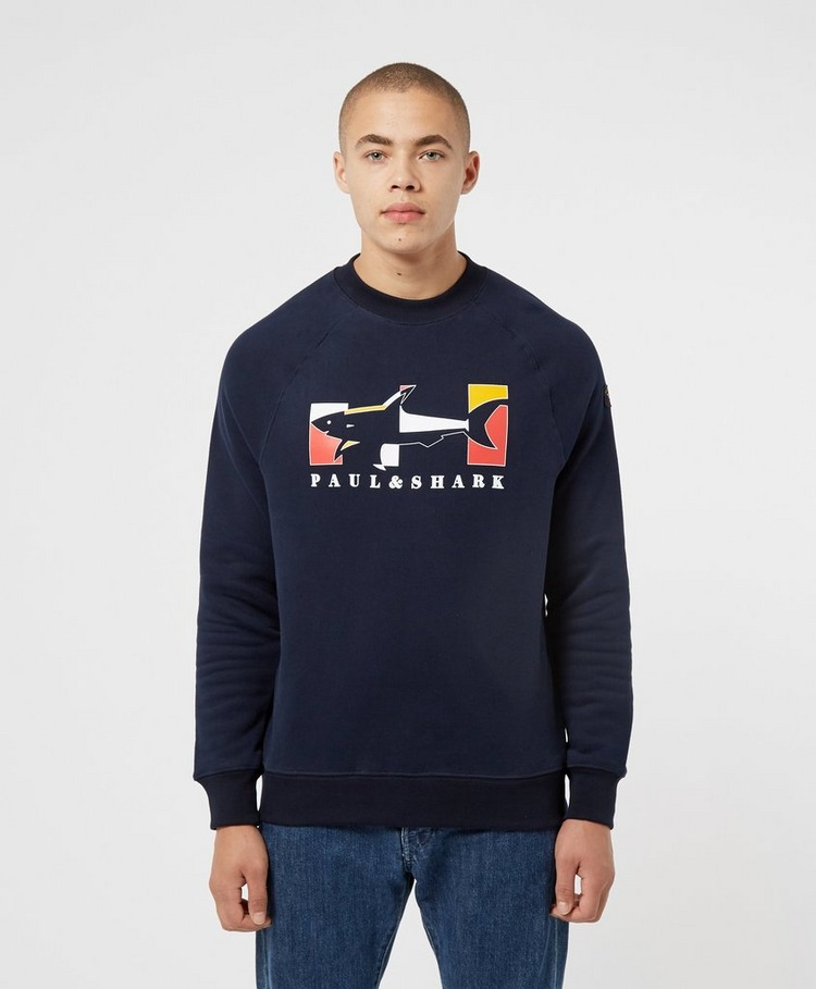 Paul and Shark Shark Graphic Sweatshirt