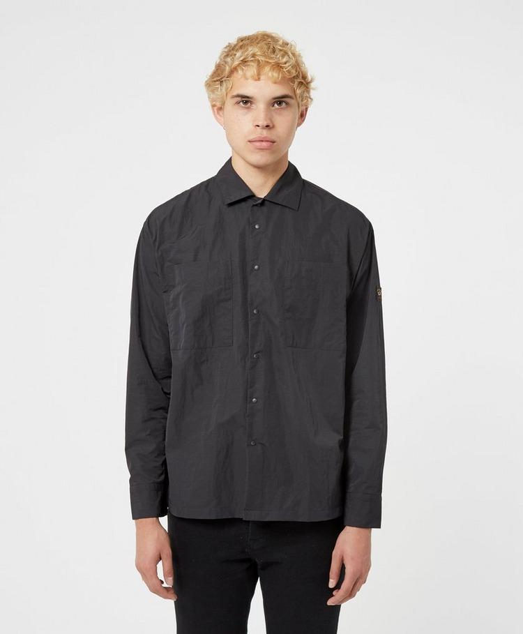 Paul and Shark Woven Long Sleeve Shirt
