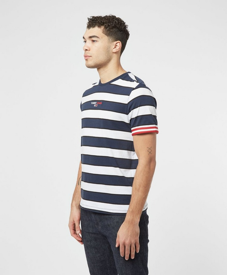 Tommy Jeans Small Text Stripe T-Shirt