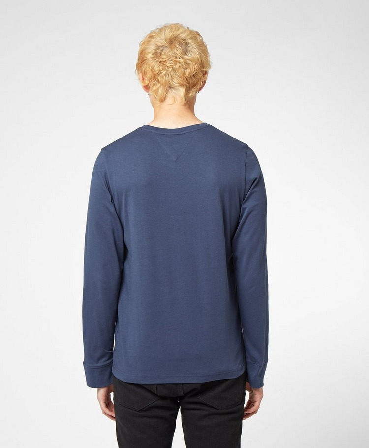 Tommy Jeans Corporate Logo Long Sleeve T-Shirt