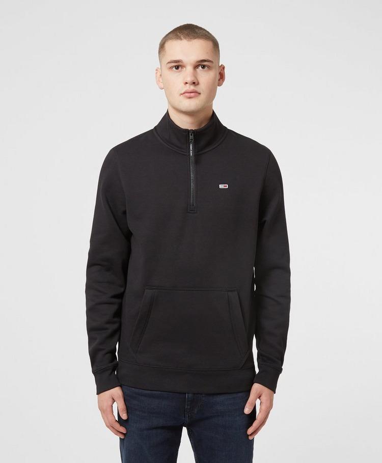 Tommy Jeans Detail Half Zip Sweatshirt