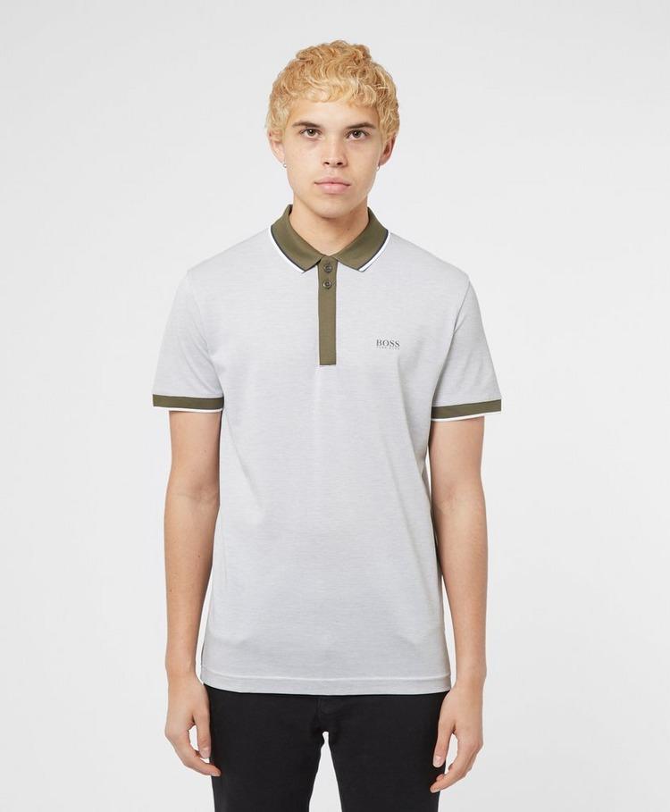BOSS Paddy Jacquard Short Sleeve Polo Shirt