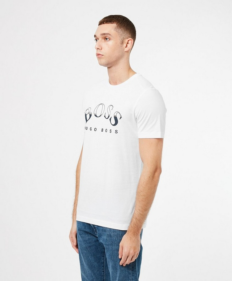 BOSS Large Curved Logo T-Shirt