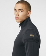 BOSS Zomin Ribbed Half Zip Knitted Sweater