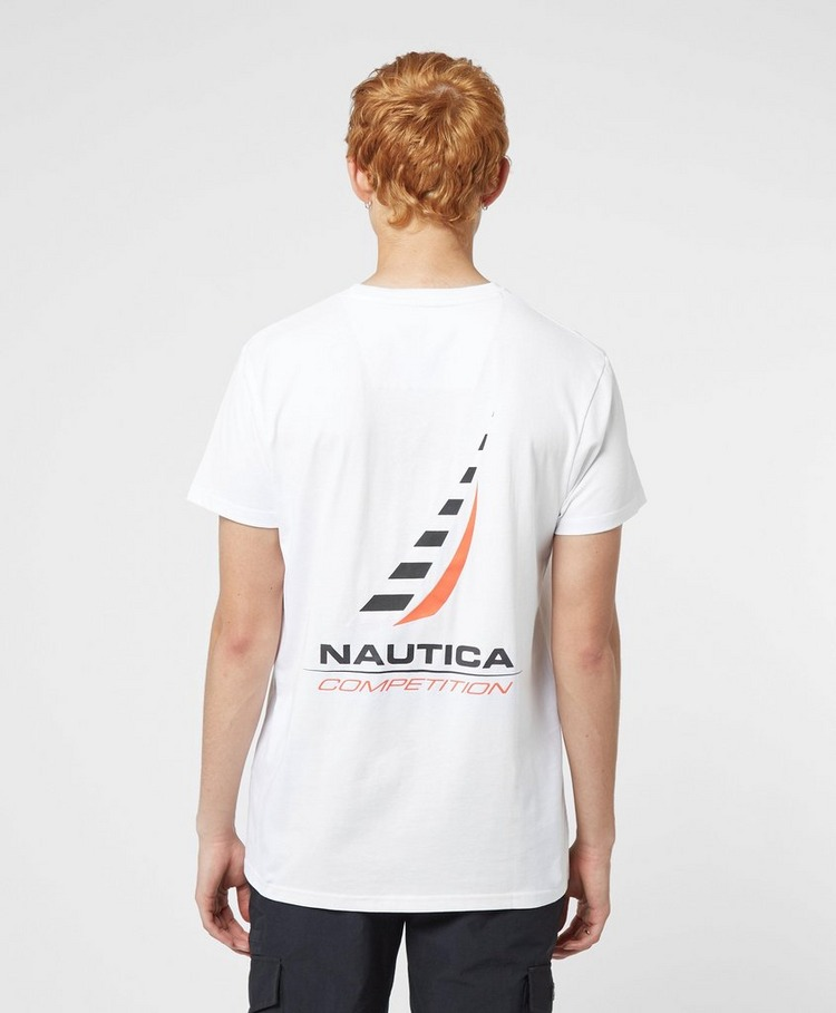 Nautica Competition Afore Back Logo Short Sleeve T-Shirt