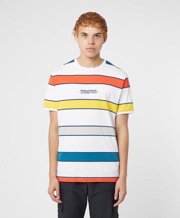 Nautica Competition Adviso Stripe Short Sleeve T-Shirt