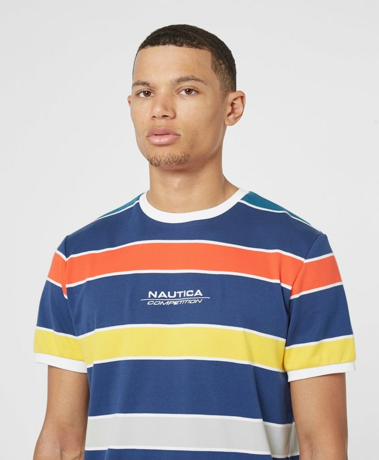 Nautica Competition Adviso Stripe Short Sleeve T-Shirt