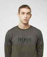 BOSS Pique Mix Sweatshirt