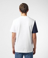Lacoste Vertical Side Stripe Short Sleeve T-Shirt