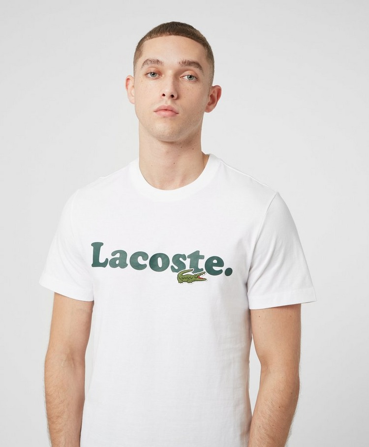 Lacoste Double Logo Short Sleeve T-Shirt