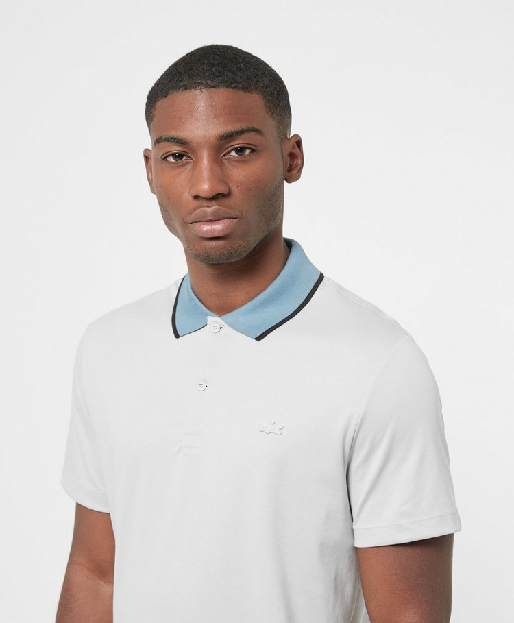 Lacoste Tipped Tonal Short Sleeve Polo Shirt