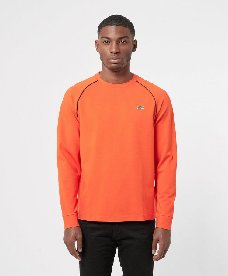 Lacoste Pipe Detail Long Sleeve T-Shirt