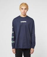 Lacoste Croc Arm Long Sleeve T-Shirt