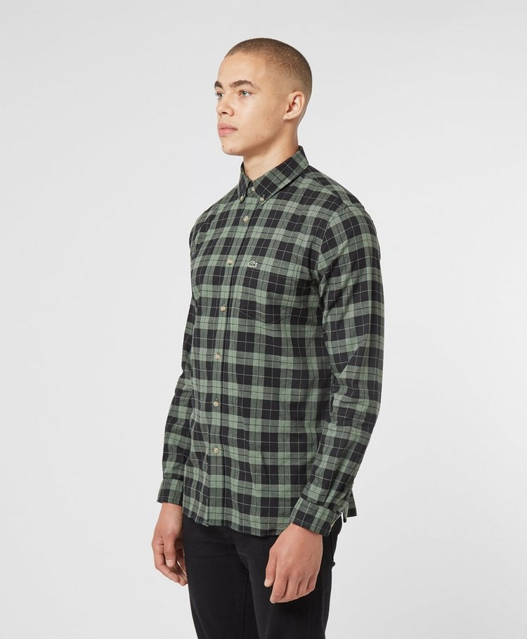 Lacoste Tartan Check Long Sleeve Shirt