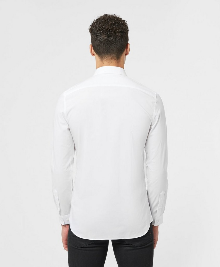 Lacoste Cotton Poplin Long Sleeve Shirt
