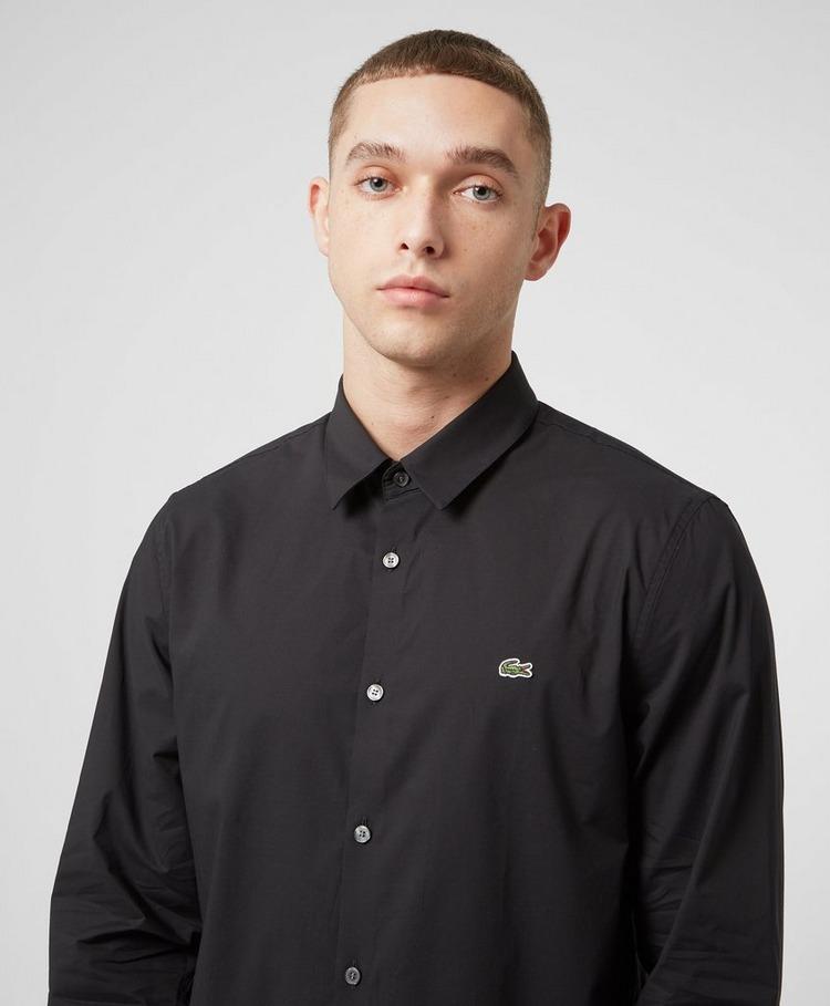 Lacoste Cotton Poplin Long Sleeve Shirt