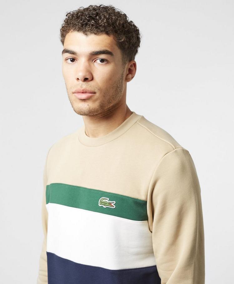 Lacoste Colour Block Sweatshirt