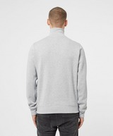 Lacoste Ribbed Half Zip Sweatshirt