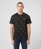 Lacoste Live All Over Print Short Sleeve T-Shirt