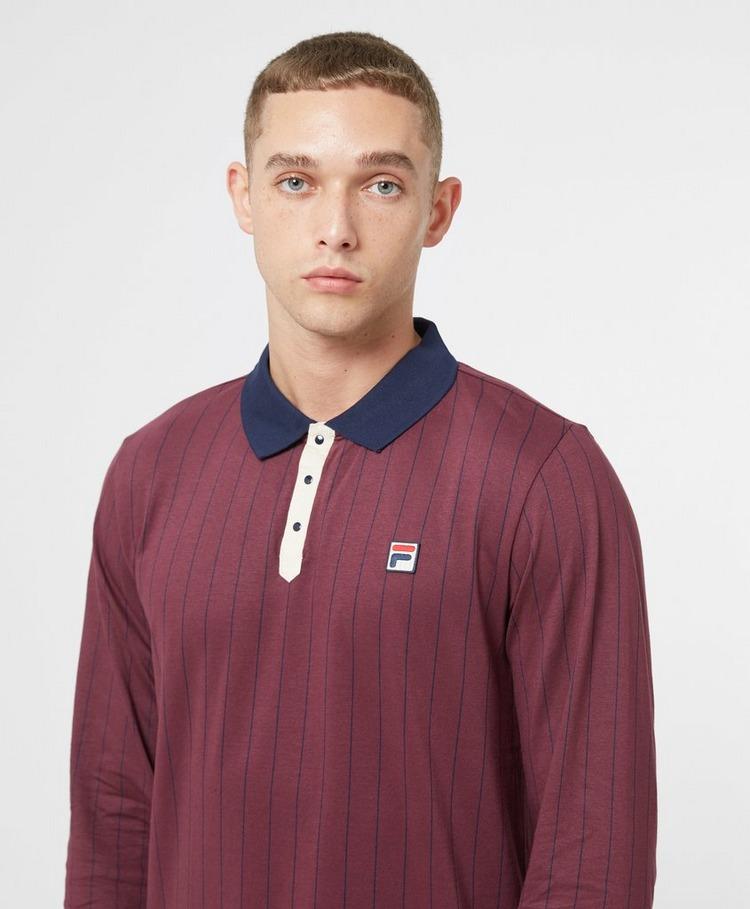 Fila BB2 Long Sleeve Polo Shirt