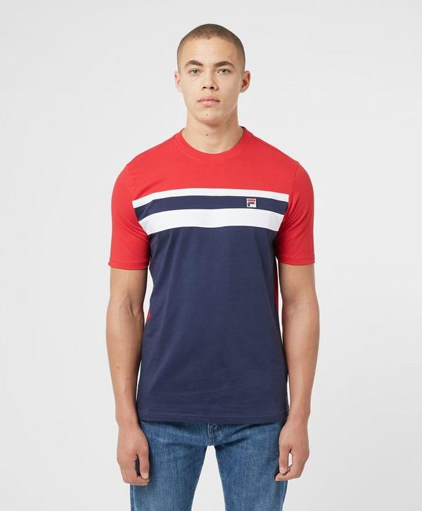 Fila Dover Colour Block Short Sleeve T-Shirt