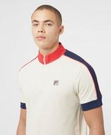 Fila Parrini Quarter Zip Short Sleeve Polo Shirt