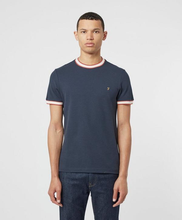 Farah Birmingham Ringer Short Sleeve T-Shirt