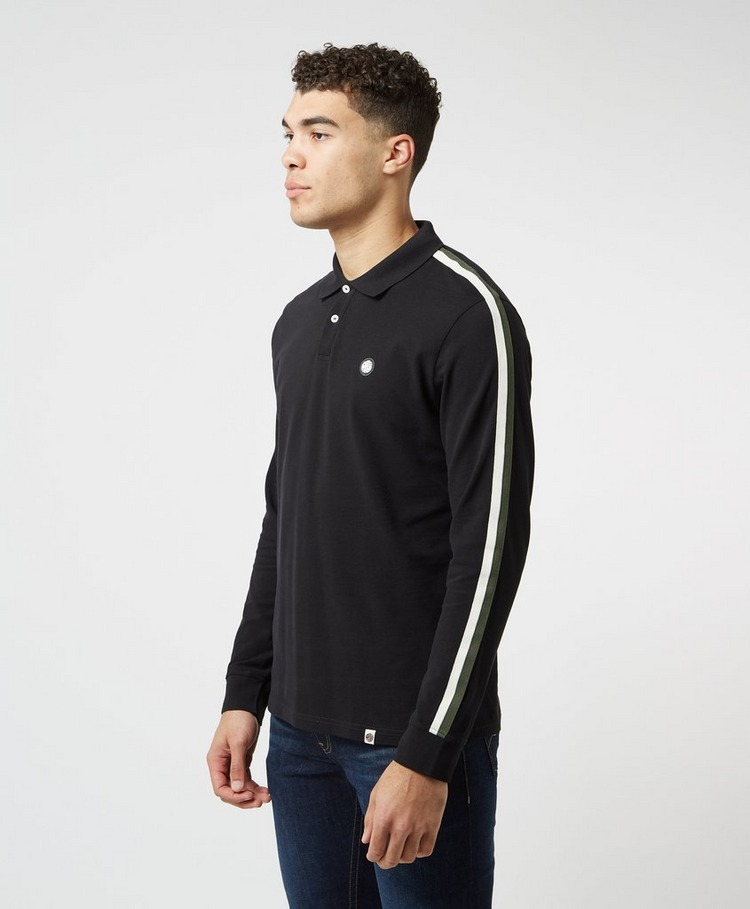Pretty Green Tilby Long Sleeve Polo Shirt